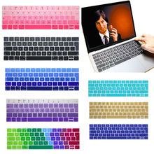 "2016 Hot For Multi-Touch Bar Apple Macbook Pro Cover 13.3"" Pro 15.4"" EU Keyboard Colorful Silicone Skin Release on Oct.27,2016"