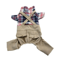 Dog Overalls Male Dog Clothes for Small Dog Jumpsuit Romper Pet Costume Outfit Garment Puppy Clothing Yorkie Clothes