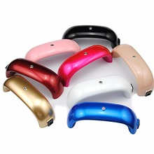 9W Mini USB LED UV Lamp Nail Dryer For Curing Nail Dryer Nail Gel Polish Dryer Lamp Led Rainbow Lamp For Nail Art Manicure Tools(China)