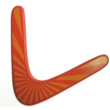 3 Pieces Boomerang Wooden V Shape Children&Kids Outdoor Toy Fribee Flying Disc Classic Birthday Gifts Childhood Memory(China)
