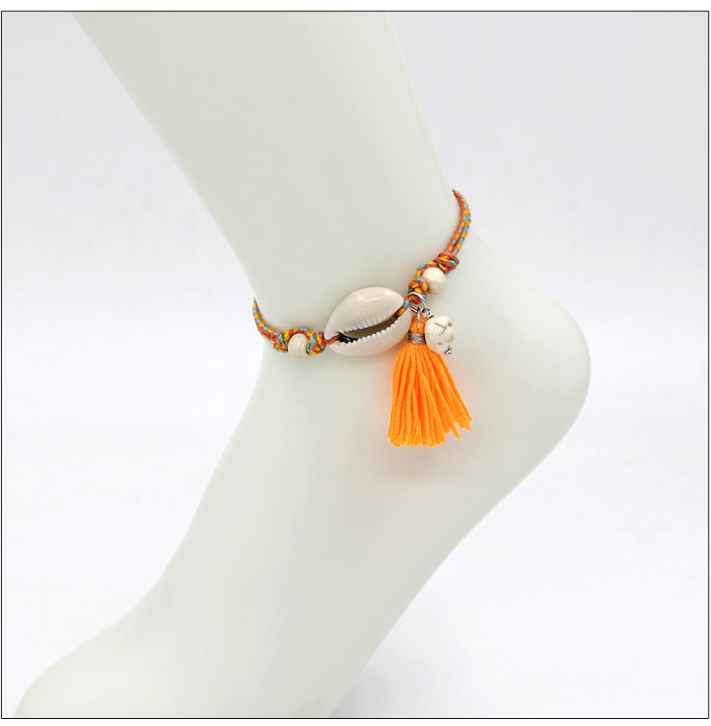 Summer Beach Shell Anklet