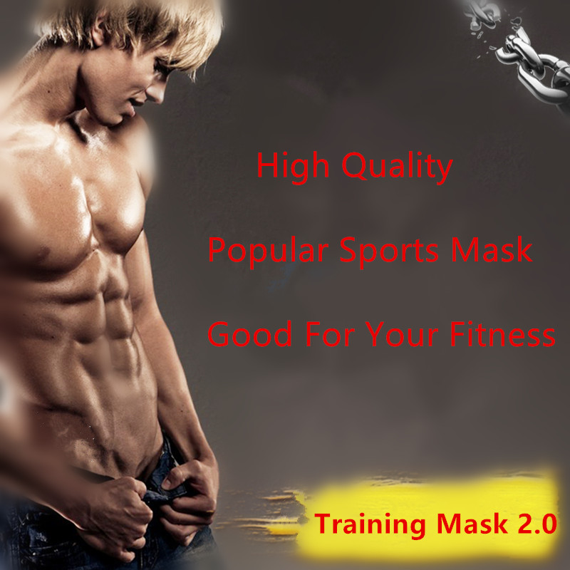 New Athletics Mask Training Mask 2.0 Outdoor Sports Fitness Mak Altitude Mask With Boxes Fitness Supplies Equipment<br>