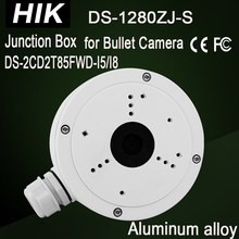 DS-1280ZJ-S Hik Junction Box for Bullet camera DS-2CD2T85FWD-I5/I8 DS-2CD2T35FWD-I5 Bracket CCTV Camera housing CCTV Accessories(China)