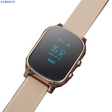 GPS Tracker Watch For Kids Child GPRS Bracelet Google Map SOS Button AGPS GSM Wristband Personal Tracking Two Way Communication(China)