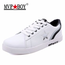 Buy MVP BOY Brand 2017 Summer Leather Casual Shoes Men Breathable Super Soft Shoes Boys Fashion Classic Solid Men Autumn Shoes for $32.89 in AliExpress store