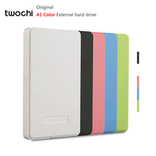 New Styles TWOCHI A1 Color Original 2.5'' External Hard Drive 40GB  Portable HDD Storage Disk Plug and Play On Sale