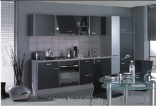 melamine/mfc kitchen cabinets(LH-ME038)(China)