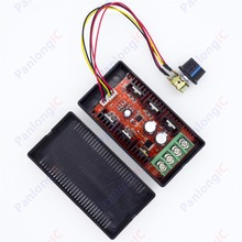 NEW 10-50V 40A DC Motor Speed Control PWM HHO RC Controller 12V 24V 48V 2000W MAX Free Shipping(China)