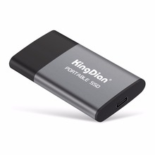 Kingdian Solid-State-Drive Portable Ssd 240GB Best-Gift 500gb External Usb-3.0 for Businessmen