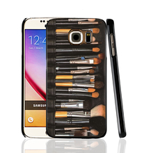 05901 New Listing Cosmetic Brushes pattern hard plastic cell phone protective case cover for Samsung Galaxy A3 A5 A7 A8 A9 2016