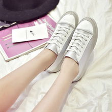 famous brand flat shoes woman lace up silk creepers spring summer white espadrilles women platform shoes chaussure femme y125
