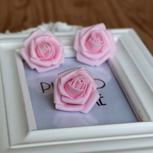 <100PCS/LOT>Wedding supply 3.5CM--4CM Foam Rose Flower artificial flores Bud marriage party decorations