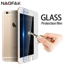 NAGFAK Anti-Scratch 9H Tempered Glass For iphone 8 7 Plus 6 6s Plus 0.28mm Screen Protector Film For iPhone 5 5S SE Glass Film(China)