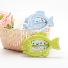 New High Quality Baby Floating Fish Water Thermometer Plastic Float Bath Toy Tub Sensor 10-50C(China)