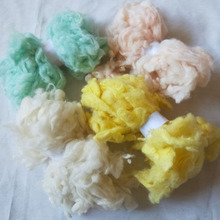 WFPFBEC alpaca curly wool FIBER for wool felt 40g 10g/color 4colors(China)