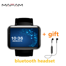 MAFAM X01s Clock Bluetooth Smart Watch 2.2 inch Android 4.4 OS 3G Smartwatch Phone MTK6572A 1.2GHz 4GB ROM Camera MP3 MP4(China)