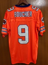 Bobby Boucher #9 The Waterboy Football Jersey Adam Sandler Orange All stitched