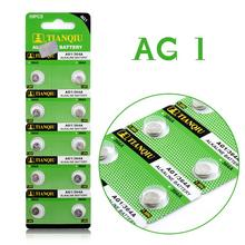 YCDC 10Pcs/Lot RETAIL LONG LASTING AG1 364 LR621 164 531 SR60 SR621SW 1.55V Watch Battery Button Coin Cell  100% Original Brand