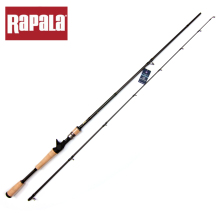 High Quality Rapala Brand SKITTER Series Tetra Axial Carbon Lure Fishing Rod M ML Power 1.98m 2.1m 2 Segment Bait Casting Rod(China)