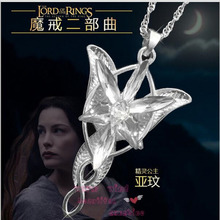 Free shopping Hot Fashion New Style Hot Sale Crystal Flower Charm Choker Elven Necklace Fashion Jewelry For Women Lord