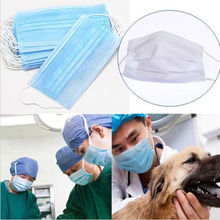 10 Pcs Elastic Ear Loop Disposable Medical Dustproof Surgical Face Mouth Masks