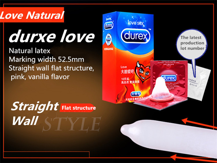 Durex Condoms 32 Pcs/Box Natural Latex Smooth Lubricated Contraception 4 Types Condoms for Men Sex Toys Products Wholesale 4