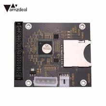 "amzdeal Computer Tablet Digital SD To 3.5"" Inch 40Pin IDE Hard Disk Drive Adapter Cards"