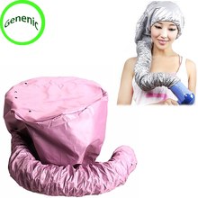 1 pcs Comfort Home Portable Salon Hair Dryer Soft Hood Bonnet Attachment Haircare(China)