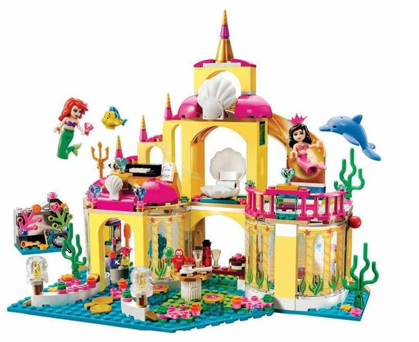 SY374 400Pcs 10436 Princess Undersea Palace Model Building Kits Blocks Bricks Girl Toy Gift Compatible With Lepin<br><br>Aliexpress