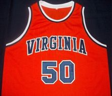 UNIVERSITY OF VIRGINIA COLLEGE RALPH SAMPSON ROAD CLASSICS BASKETBALL JERSEY Embroidery Stitched Customize any number and name J