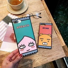 Fashion Cute Cartoon Cell Phone Cases For iphone 6 6S Luxury Anti-knock Cheap Soft Silicone Cover For iphone 6plus 6Splus Coque