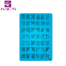 Retail A-Z Series XL Medium Size  Stamp Stamping Image Konad Plate Print Nail Art Large BIG Template DIY