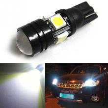 1PC T10 XENON White W5W 1.5W 5050 SMD 4 LED CANBUS Wedge Light Lamp Bulb 12V