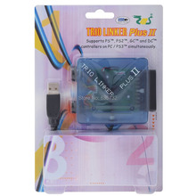 Trio Linker Plus II for GameCube for PS2 for Dreamcast Controller USB Adapter to PC for PS3