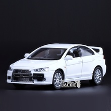 High Simulation Exquisite Diecasts&Toy Vehicles: Good Car Styling Dakar Rally Mitsubishi Lancer EVO 1:36 Alloy Diecast Model(China)