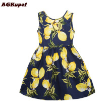 AGKupel Girls Summer Dress Toddler Girls Clothing Children Infant Party Dress Girl Cotton Kids Vest Dresses Children Clothes(China)