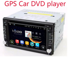 "Touch Screen car dvd player gps navigation USB SD Bluetooth FM 6.2"" 2din in dash TFT support rear view camera input"
