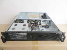 Industrial computer server case NAS 2U550mm Size 550x430x88 mm Support standard 19 'rackmount