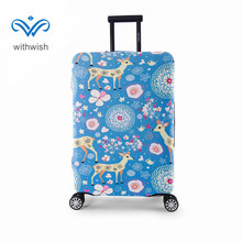 4-size S/M/L/XL Thicken Luggage Protective Cover High Elastic Suitcase Protective Cover For Trolley Case 18''~32'' Free Shipping(China)