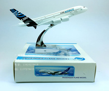Hot Sale AIRBUS A380 16cm 15cm alloy metal model decorations PLANE MODEL