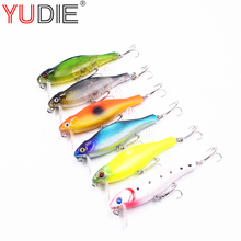 Buy 1Pcs Fin Minnow Crank 8cm 10.7g Hard Lure Sea Carp Fly Fishing Spinner Bait Accessories Hooks Tool Wobblers Fish Sport lures for $1.01 in AliExpress store