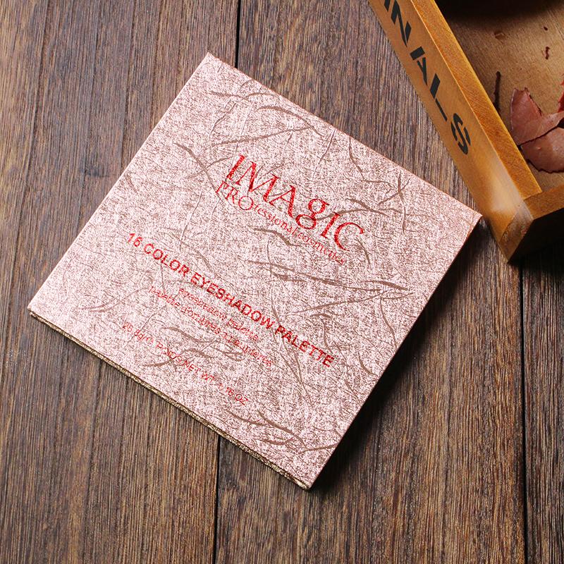 IMAGIC Nouvelle Arrivée Charme 16 Couleur Palette Make up Poudre 10