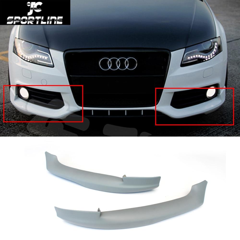 A4 B8 O style FRP front splitter front bumper spoiler lip for Audi A4 B8 standard bumper 2009-2012<br><br>Aliexpress