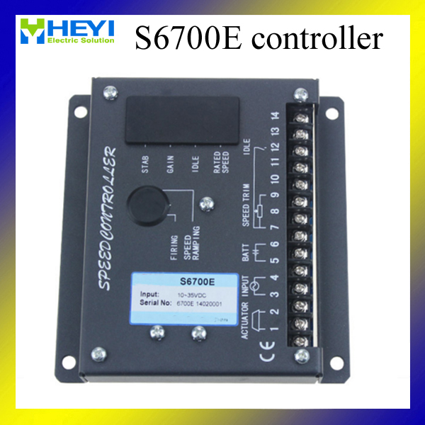 S6700E  genset speed controller for generator<br><br>Aliexpress