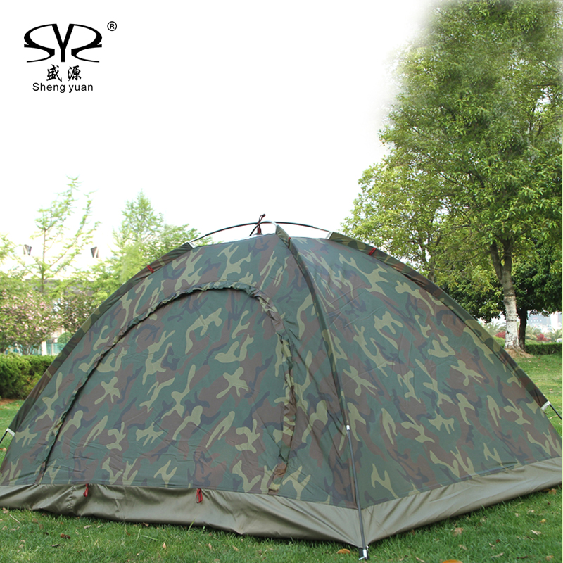1.4KG Tent 210D Oxford cloth Fabric Ultralight 2 Person Double Layers Aluminum Rod Camping Tent 4 Season With 2 Person tents<br>
