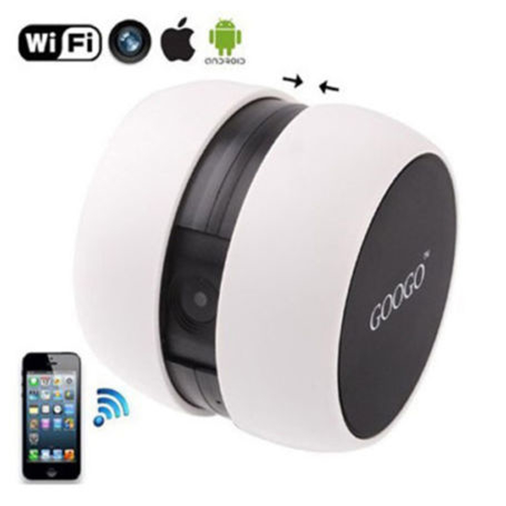 Mini 2.4GHz Wifi Wireless Video Camera Baby Monitor For iPhone ipad Mobile phone<br>