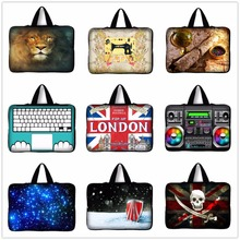 2016 New London Flag Laptop Sleeve Bag Case Carrying Handle Bag For Apple Asus HP Dell 14 14.1 14.4 Inch Notebook Netbook PC #4