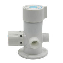 Thermostatic Mixing Valve Pipe Thermostat Valve Control the Mixing Water Temperature(China)