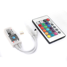Free shipping C17-RGB Magic Home Wifi LED RGB Controler DC12V MIni Wifi+24 IR Key Remote Controller for RGB LED Strip(China)