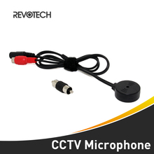 High Quality CCTV Mini Audio Microphone Surveillance Wide Range Sound Pickup Audio Monitor for Security Camera